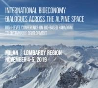 International bioeconomy dialogues across the alpine space